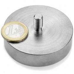 Neodīma magnēts ar vītni 60x15mm N42