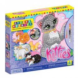 """Sticky Mosaics radošais komplekts """"Kaķēni"""""""
