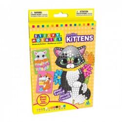 """Sticky Mosaics radošais komplekts """"Mirdzošie kaķēni"""""""