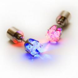 """LED auskari """"dimants"""" (krāsaini)"""