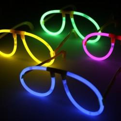 Glow sticks ballīšu brilles, 10 gab., krāsu MIX