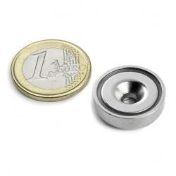 Neodīma magnēts ar caurumu 20mm N38 8.9kg