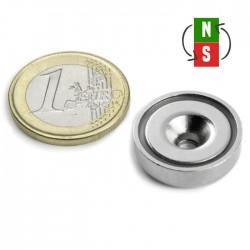 Neodīma magnēts ar caurumu 20mm N35 8.5kg