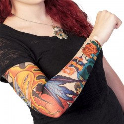 Viltus tetovējuma piedurkne
