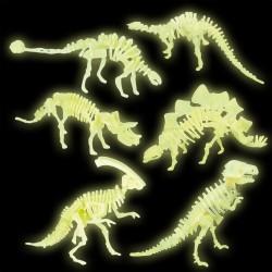 Tumsā spīdoši dinozauri - konstruktors