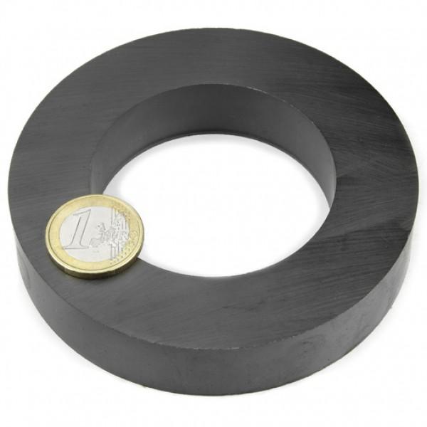 Ferīta magnēts, gredzenveida, 100x20mm