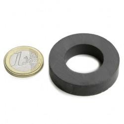 Ferīta magnēts, gredzenveida, 40x9mm