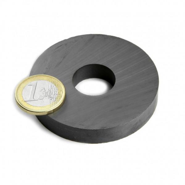 Ferīta magnēts, gredzenveida, 60x10mm