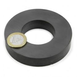 Ferīta magnēts, gredzenveida, 80x15mm
