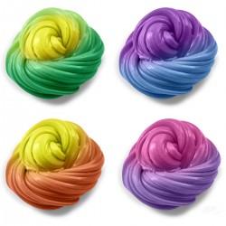 Gudrais plastilīns - maina krāsu