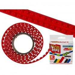 Elastīgā konstruktoru Lego lente 1.25m sarkana