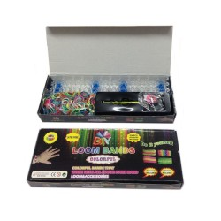 Loom Bands aproces - komplekts (600 gb.)