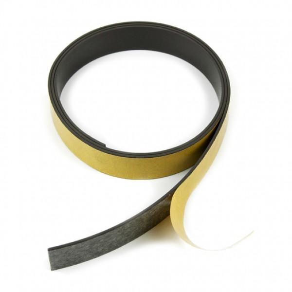 Magnētiskā lente 20x1.5mm, pašlīmējoša 1m