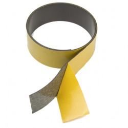 Magnētiskā lente 40x1.5mm, pašlīmējoša 1m