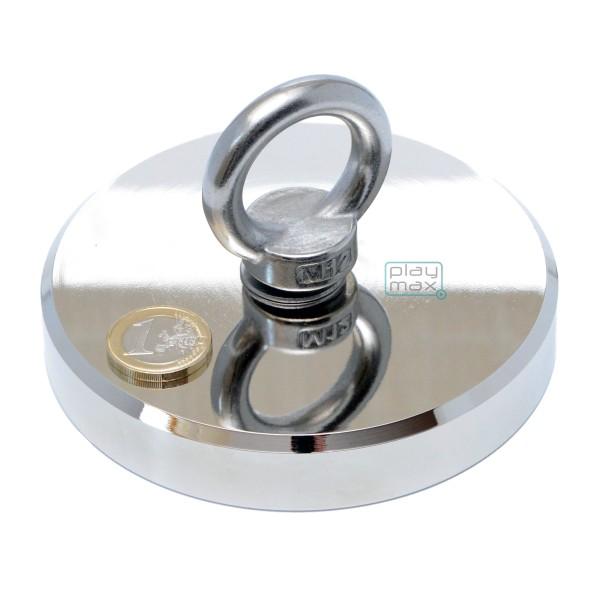 Neodīma meklēšanas magnēts 116x20mm 400kg
