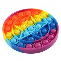 Pop it Toy - Antistresa burbuļu spēle Varavīksne Zvaigzne