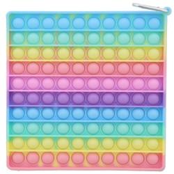 Pop it XL lielais 20cm - Antistresa burbuļu spēle Kvadrāts
