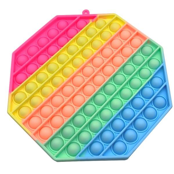 Pop it XL lielais 20cm - Antistresa burbuļu spēle Astoņstūris