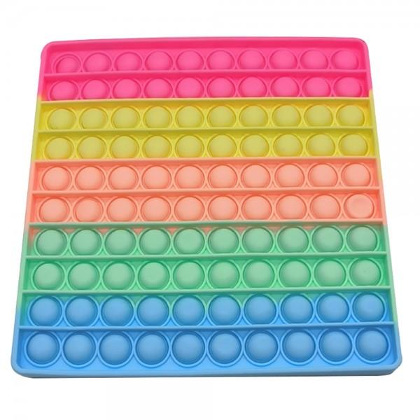 Pop it XL lielais 20cm - Antistresa burbuļu spēle Kvadrāts 2
