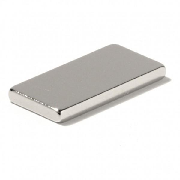 Neodīma magnēts 20x10x2mm N45