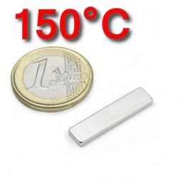 Neodīma magnēts 25x6x2mm 45SH 150C 1.7kg