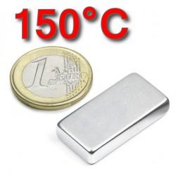 Neodīma magnēts 30x15x6mm 42SH 150C