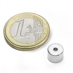 Neodīma magnēts, gredzenveida 8x6mm N50 2.4kg