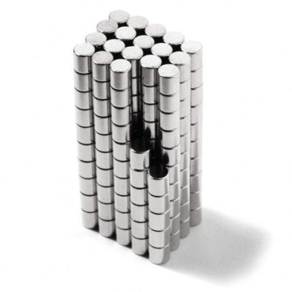 Neodīma magnēts 2x2mm N48 0.15kg, 10 gab.