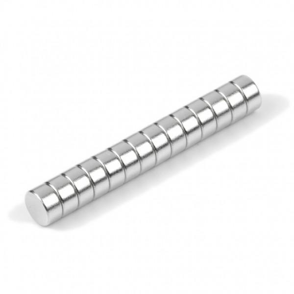 Neodīma magnēts 4x2mm N35, 10 gab.