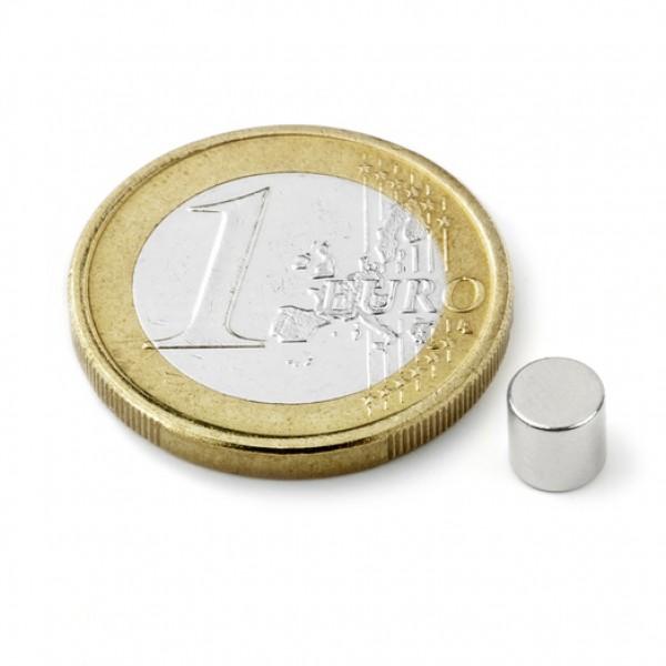 Neodīma magnēts 5x5mm N45