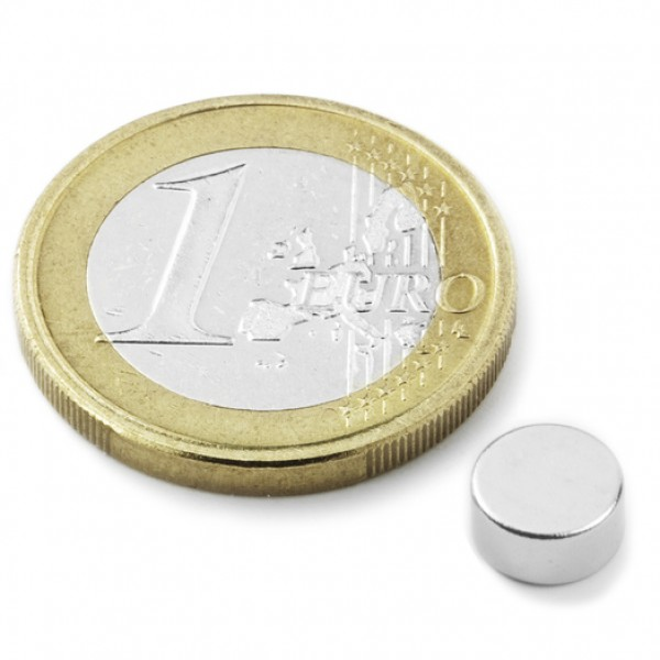Neodīma magnēts 6x3mm N45