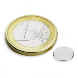 Neodīma magnēts 8x1mm N45 0.54kg