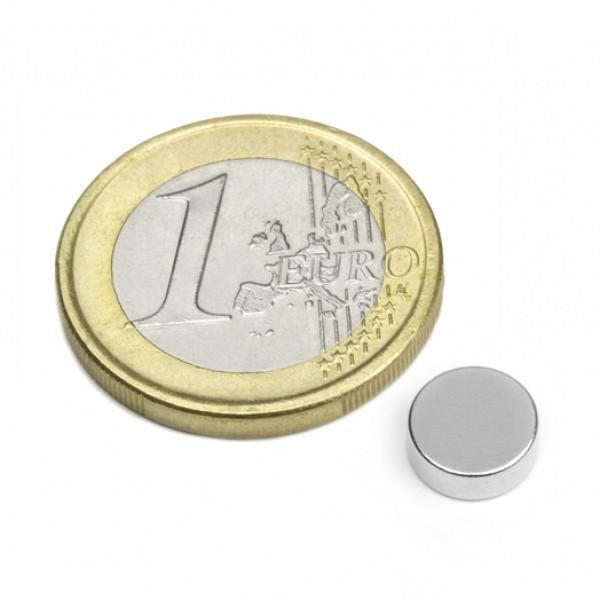 Neodīma magnēts 8x3mm N45