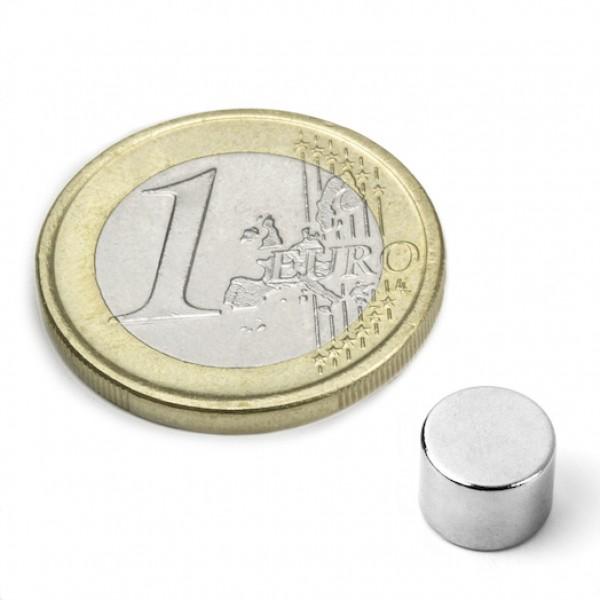 Neodīma magnēts 8x6mm N52 2.6kg