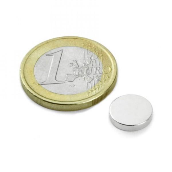 Neodīma magnēts 10x2mm N35