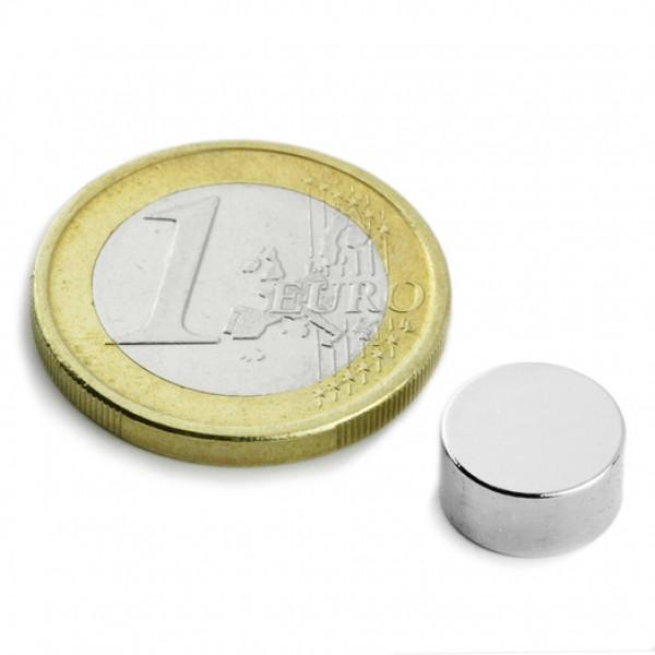 Neodīma magnēts 10x5mm N42