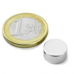 Neodīma magnēts 12x6mm N45 4.1kg