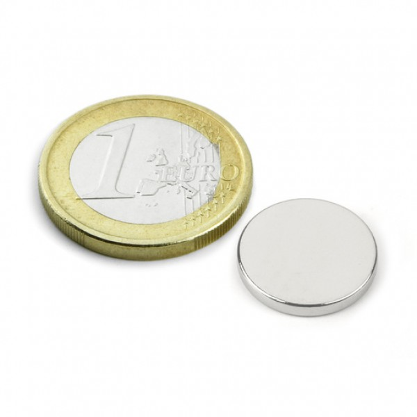 Neodīma magnēts 15x2mm N40