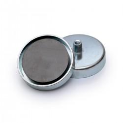 Ferīta magnēts ar ietvaru 63x14mm 36kg