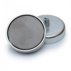 Ferīta magnēts ar ietvaru 80x18mm 62kg