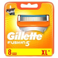 Gillette Fusion skuvekļa kasetes 8gab.
