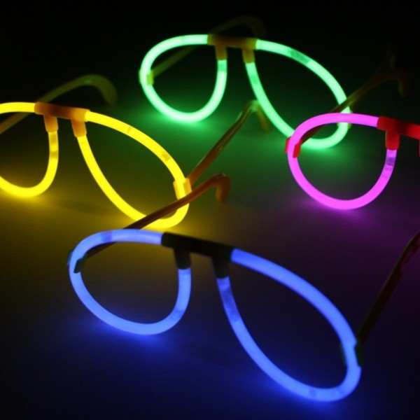 Glow sticks ballīšu brilles