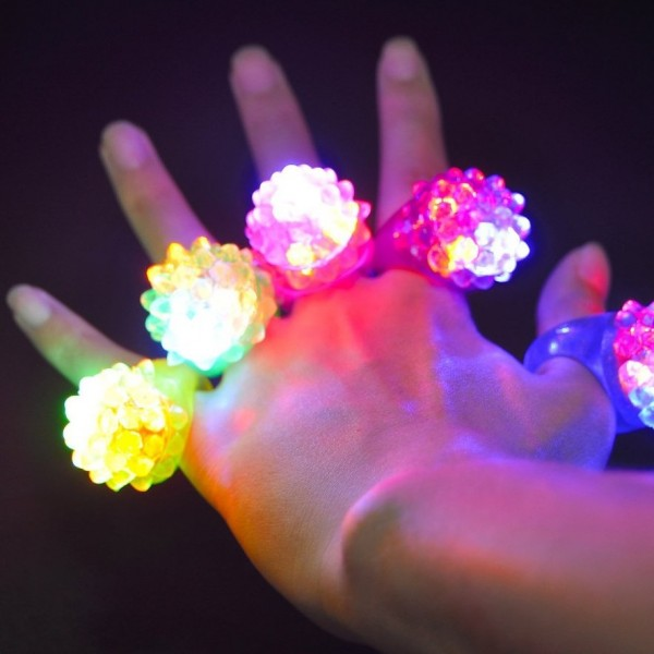 Mirgojošais LED gredzens JELLY