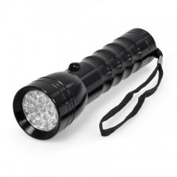 Spēcīgs LED lukturis, 19 LED, alumīnija