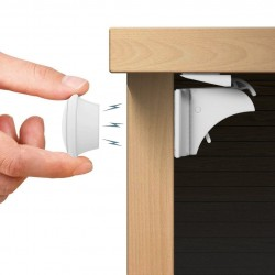 Magnētiskā drošības slēdzene, 4 gab.