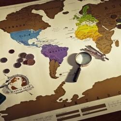 Ceļotāja karte (A1 izmērs), EN