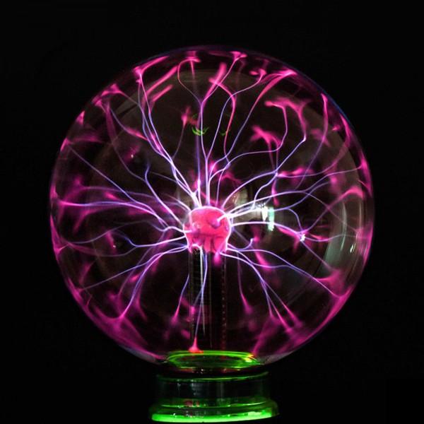 Plazmas bumba 20cm ar neonu - Plasma ball