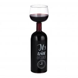 Vīna pudeļglāze
